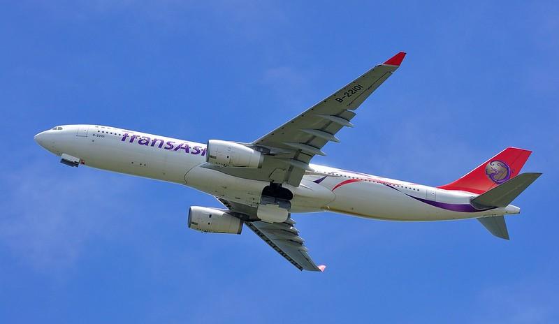復興航空 TransAsia A330-300 B-22101