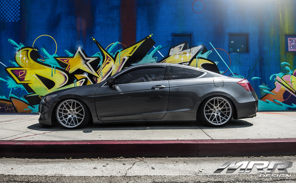 Mrr Groundforce Gf7 Wheels On 9th Gen Coupe Drive