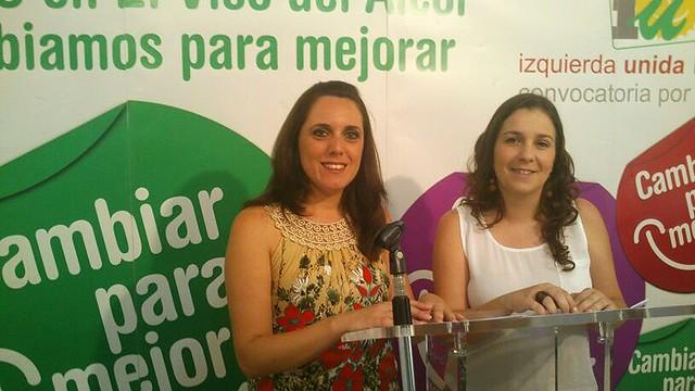 Anabel Burgos y María Parreño presentan moción contra el recurso del PP