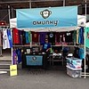 Hanging out on Madison Ave. Come say hi! #streetfair #nyc #omunky #shirt #shark #aquaticseries