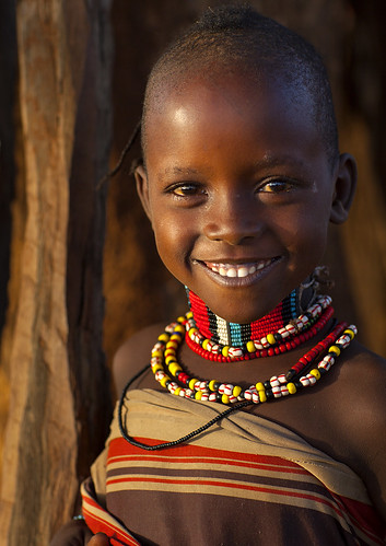 Bashada Tribe Child, Dimeka, Omo Valley, Ethiopia