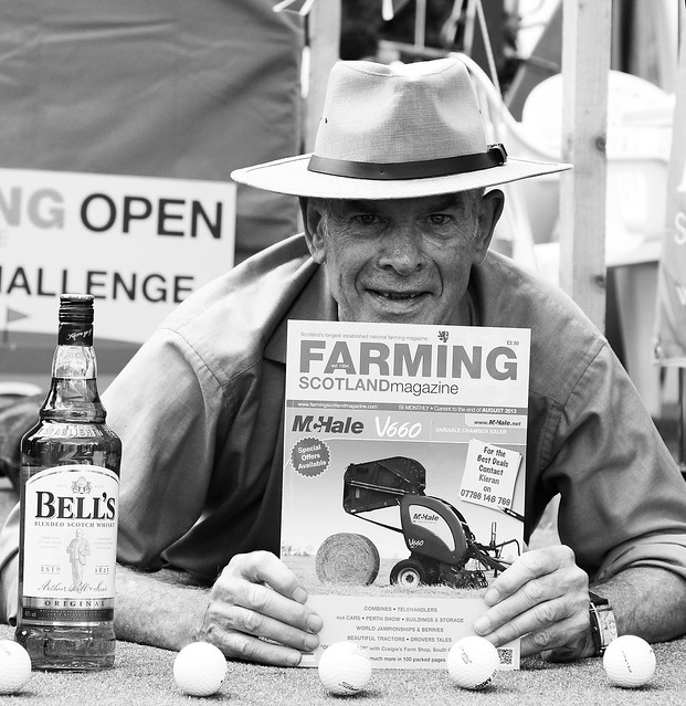 Farming, golf and whisky