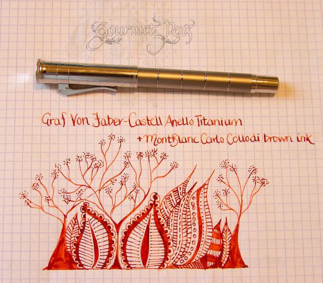 Graf Von Faber-Castell Anello Titanium Doodle