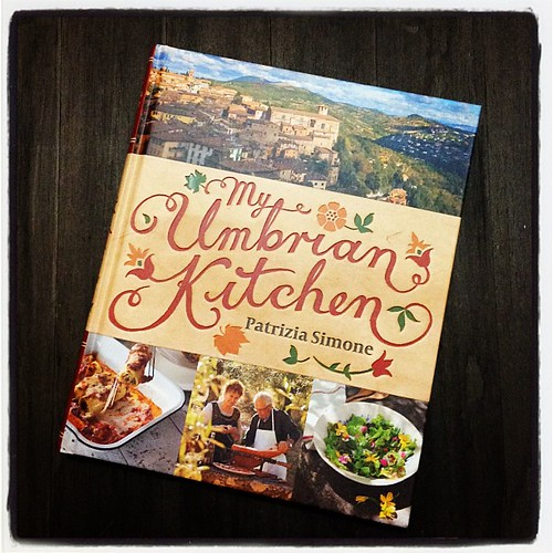 My Umbrian Kitchen by the lovely Patrizia Simone - #seasonal #Italian family recipes and lots of chestnuts!