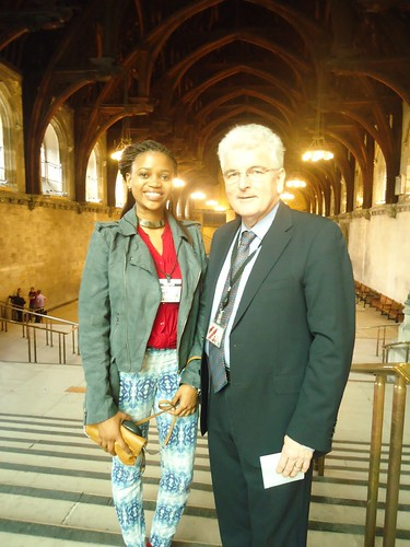 Bogolo Joy Kenewendo blog about her experience in the UK