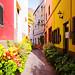 Narrow streets of Vueltas by FreakyLeo