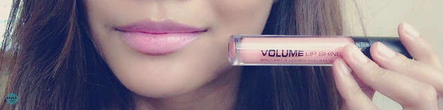 Gosh Cosmetics Volume Lip Shine 01 Soft Coral Review