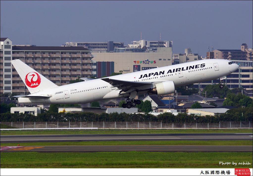 Japan Airlines - JAL JA8983-007