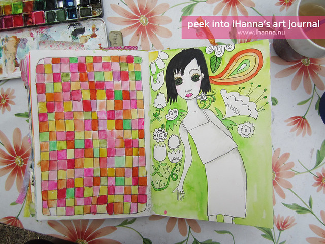 Art Journaling: Patterns and Doodles