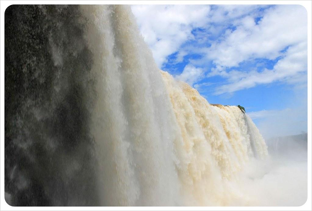 brazil iguazu falls garganta del diablo