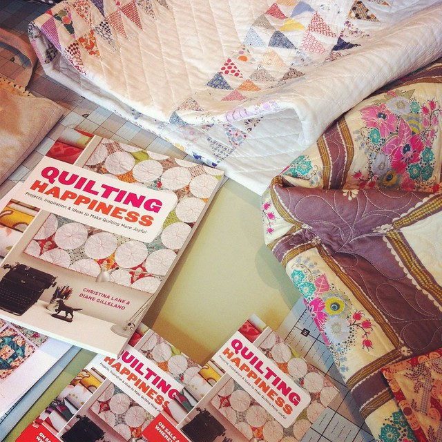 Quilting Happiness Official Launch! (Reviews, Events, and a Free Project)