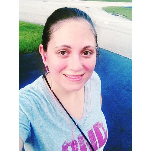 Forgot to post this shot after my #run the other day. I ran 15 minutes straight (one mile) for the first time without stopping! I'm so proud of myself :) #pictapgo_app