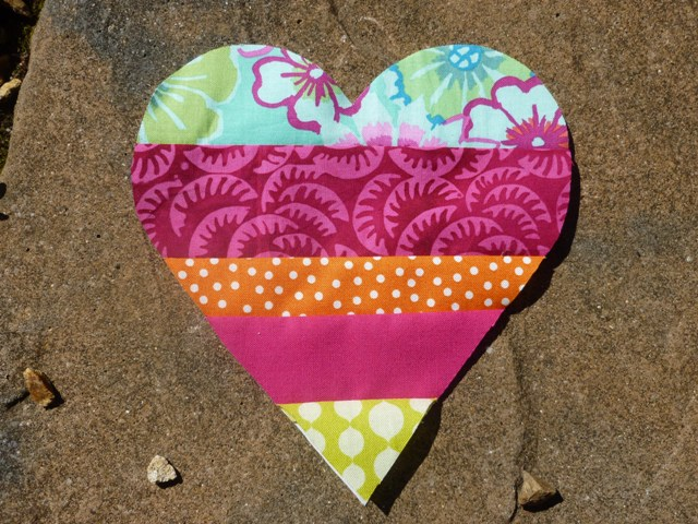 Lavender heart tutorial picture 6