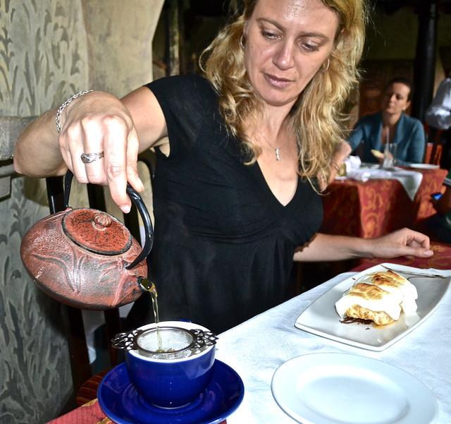 Dessert and Tea - Panza Verde