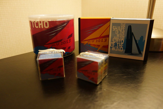 "TCHO Chocolate ""SAIL SF2013"""