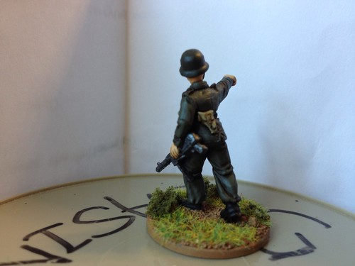 28 mm Warlord German Lt