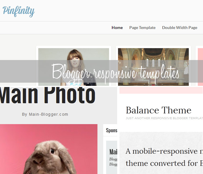 Responsive Blogger Templates, Themes