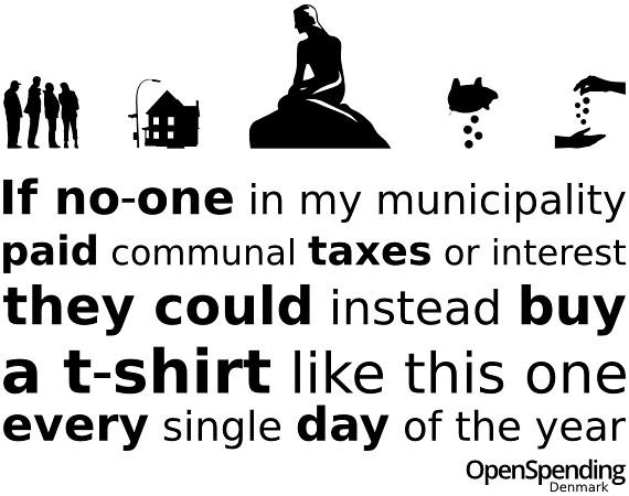 Danish t-shirt version
