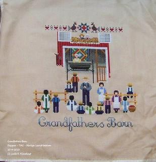 100_8896 - Grandfathers Barn - Designer - TIAG - Marilyn Leavitt Imblum - 10-4-2013