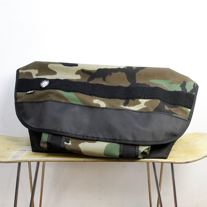 RIDEBAG / MESSENGER BAG (M) / WOOD LAND