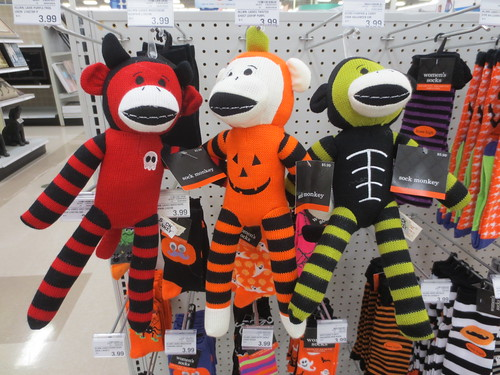 Sock Monkeys I Did Not Buy