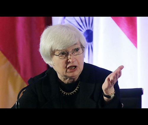 Fed Vice Chair Janet Yellen