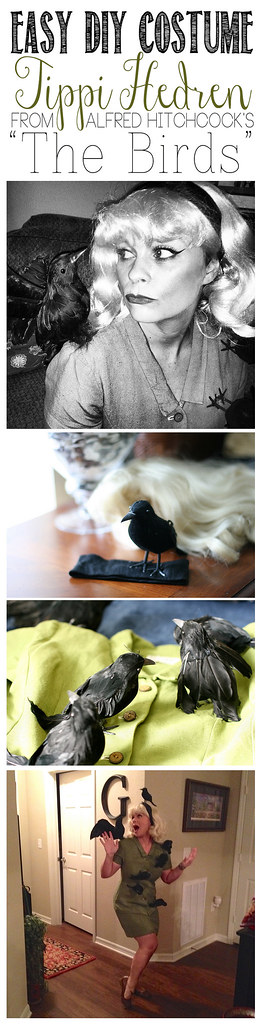 Easy DIY Costume- Tippi Hedren from The Birds