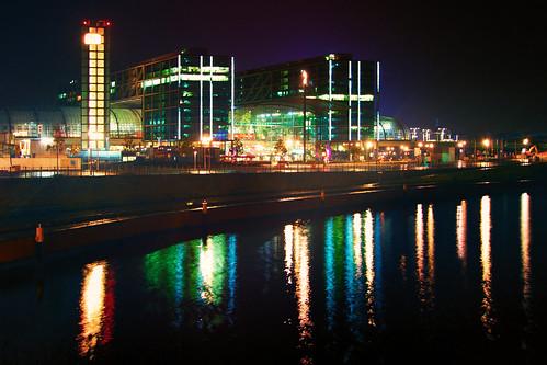 Berlin At Night - Main Station