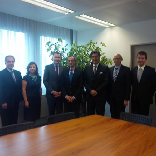 Embamex Suiza Consultas multilaterales México-Suiza en Ginebra