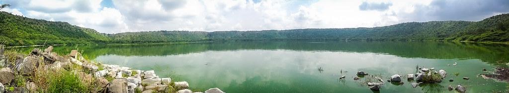Lonar lake- Panorama
