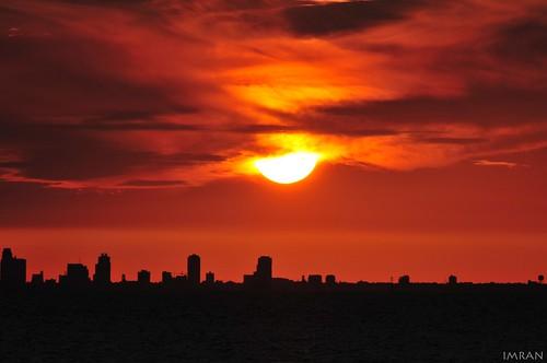 St. Petersberg Stunning Sunset Silhouette - IMRAN™ -- {SOOC} by ImranAnwar