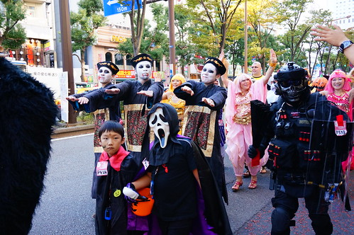 Kawasaki Halloween Parade 2013 42