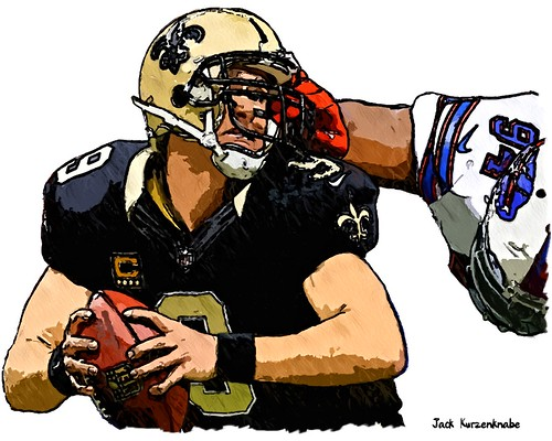 New Orleans Saints Drew Brees   -  Buffalo Bills  Mario Williams