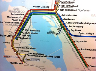 San Francisco BART Map