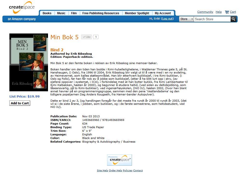 min bok 5 2 klar