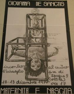Affiche Italie 1977 Maternité et naissance