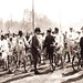 北京自行车公路赛 1920s Beijing Road bicycle racing by China Postcard
