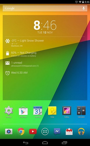 Android 4.4 для Nexus 7