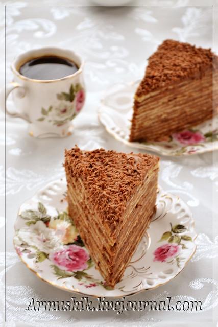 как приготовить торт в армении