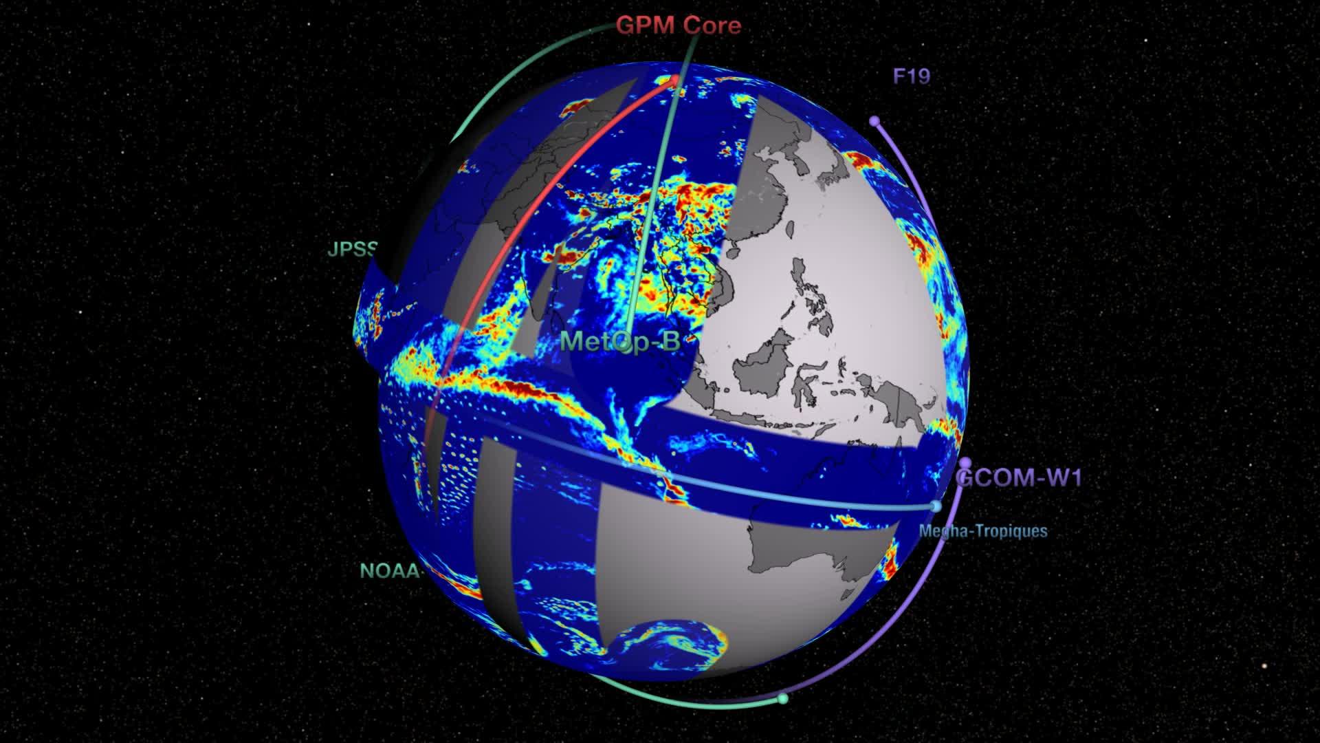 Global Precipitation Measurement (GPM) Constellation ...