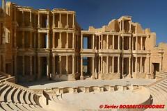 Sabratha - Le theatre