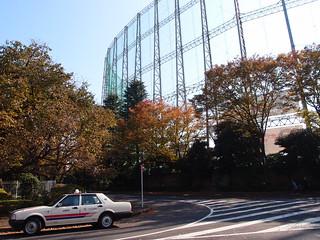 Baseball stadium @ Meiji Jingu Gaien