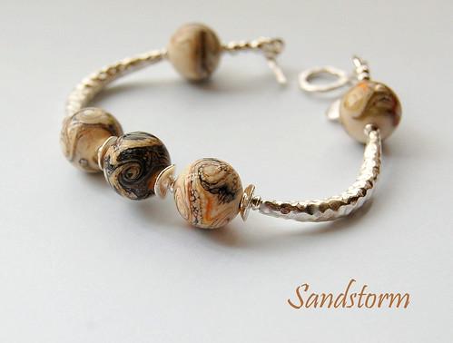 Sandstorm Bracelet by gemwaithnia