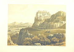 """British Library digitised image from page 438 of """"Scotland delineated in a series of views by C. Stanfield ... G. Cattermole ... (Sir W. Allan) ...Drawn in lithography by J. D. Harding (Carrick, etc.) . With historical, antiquarian and descriptive letterp"""