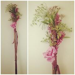 purple(0.0), lavender(0.0), twig(0.0), modern art(0.0), art(1.0), flower arranging(1.0), cut flowers(1.0), flower(1.0), branch(1.0), leaf(1.0), artificial flower(1.0), floral design(1.0), lilac(1.0), flora(1.0), flower bouquet(1.0), floristry(1.0), ikebana(1.0), pink(1.0),