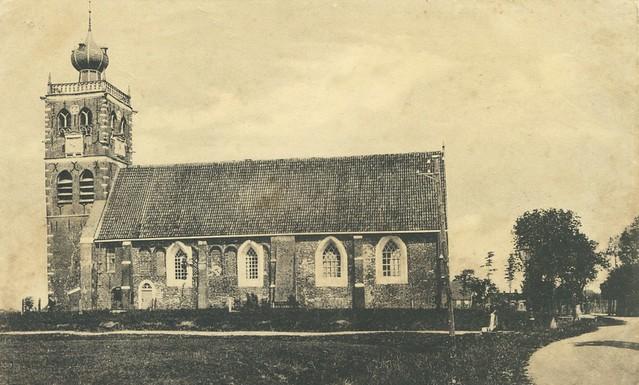 Noordwolde Ned. Hervormde kerk ca. 1904