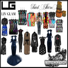 LIV-Glam Thanksgiving Hunt