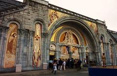 Lourdes, sanctuaires, basilique du rosaire