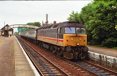 47550 at Nairn 13/06/90 1A56 1702 Inverness - Aberdeen...