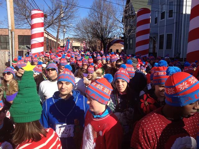 Ugly Sweater Run 5K, Boston, Massachusetts